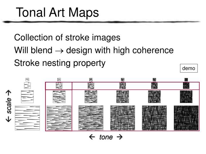 Tonal Art Maps