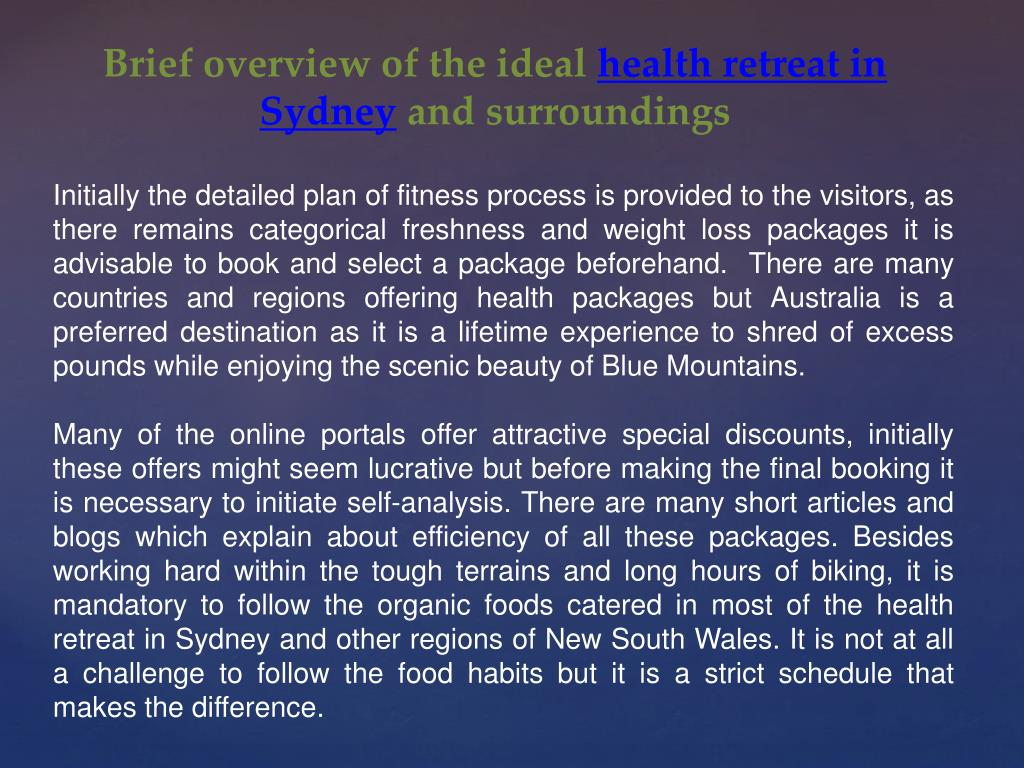 Brief overview of the ideal