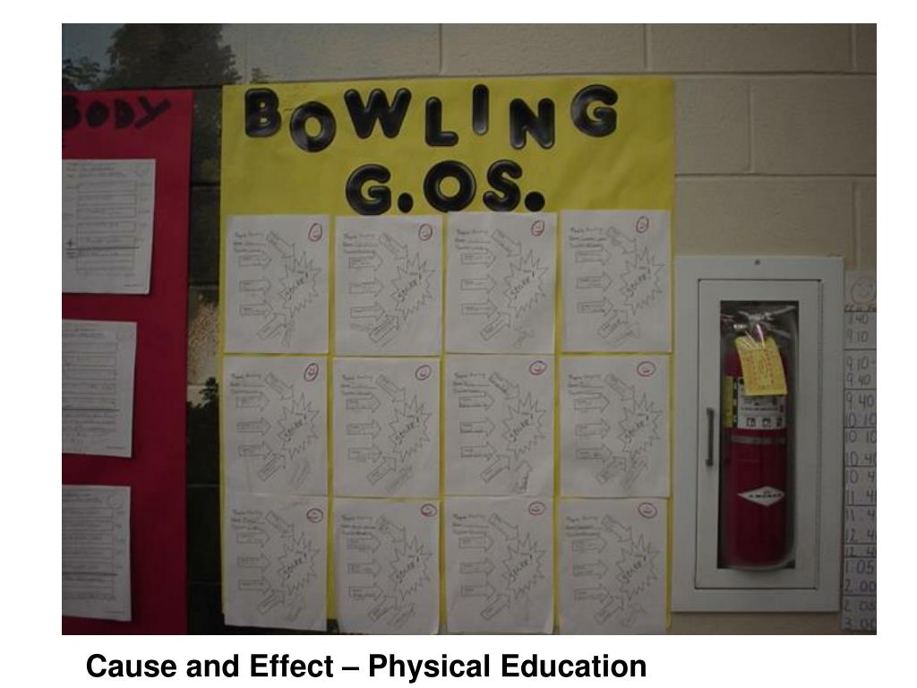 Cause and Effect – Physical Education