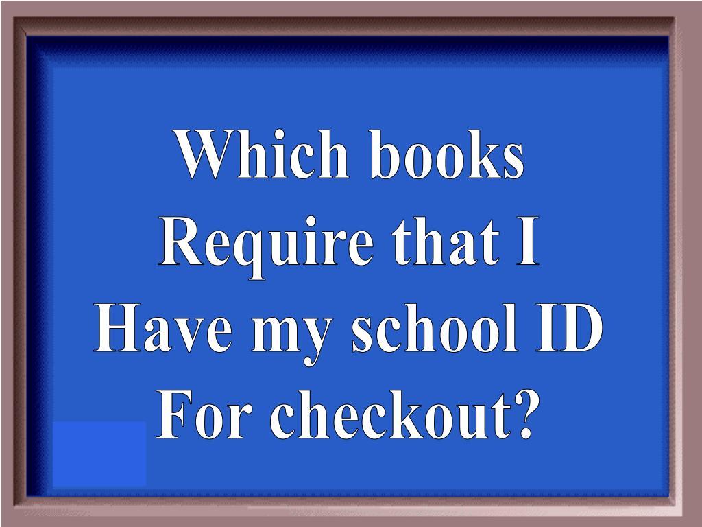 Which books