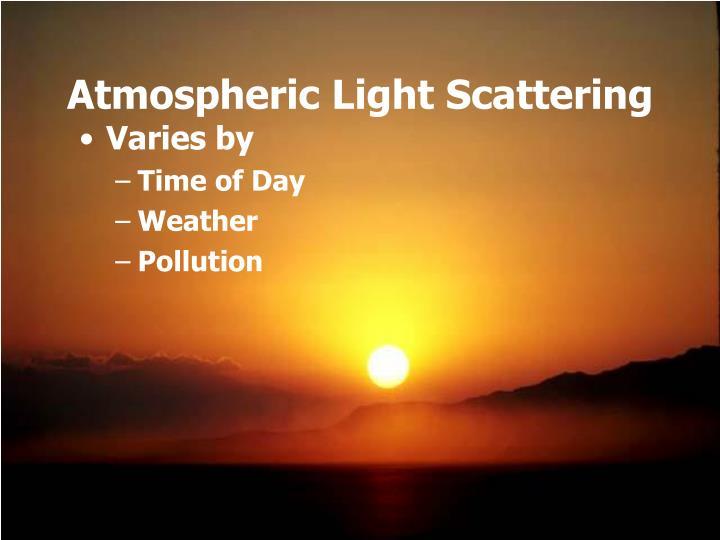 Atmospheric Light Scattering