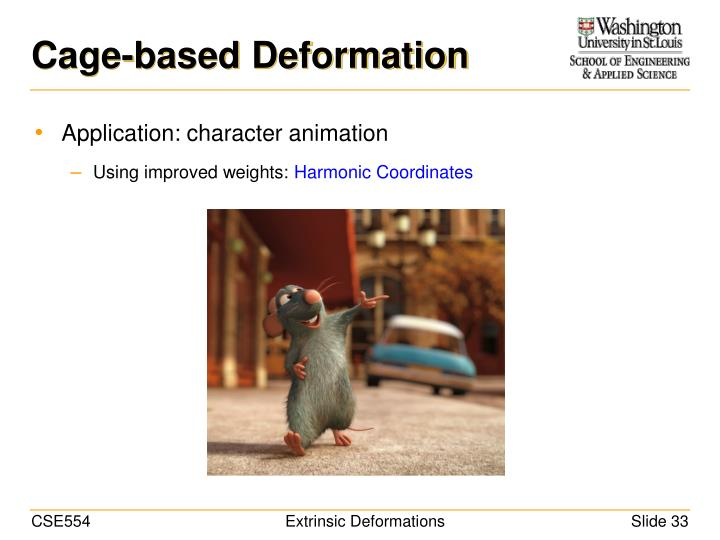 Cage-based Deformation