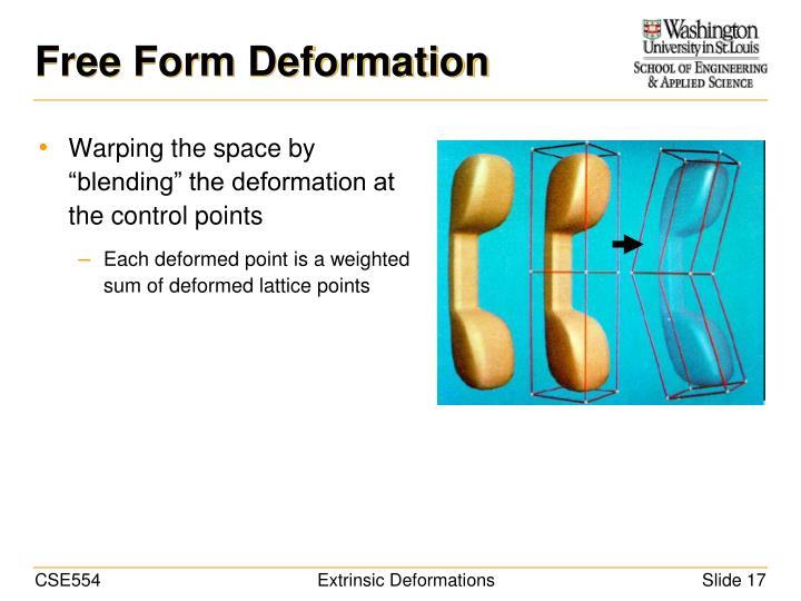 Free Form Deformation