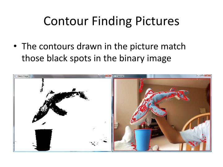 Contour Finding Pictures