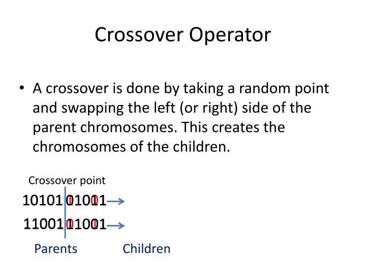 Crossover Operator