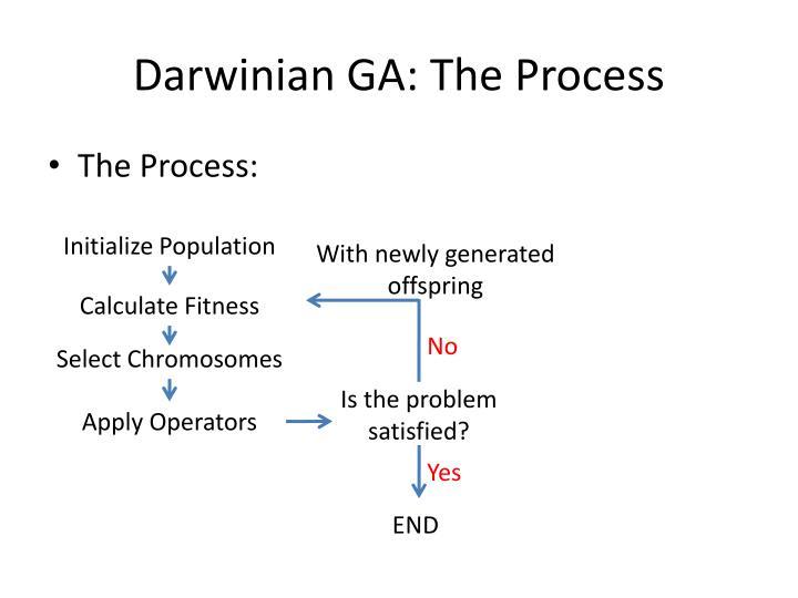 Darwinian GA: The Process