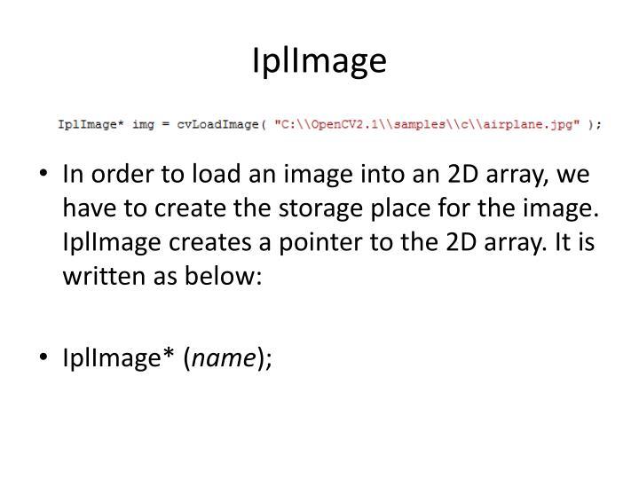 IplImage