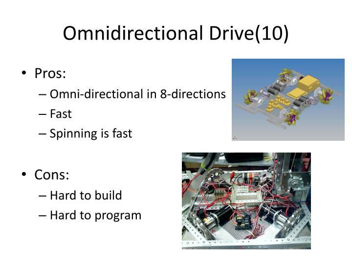 Omnidirectional Drive(10)