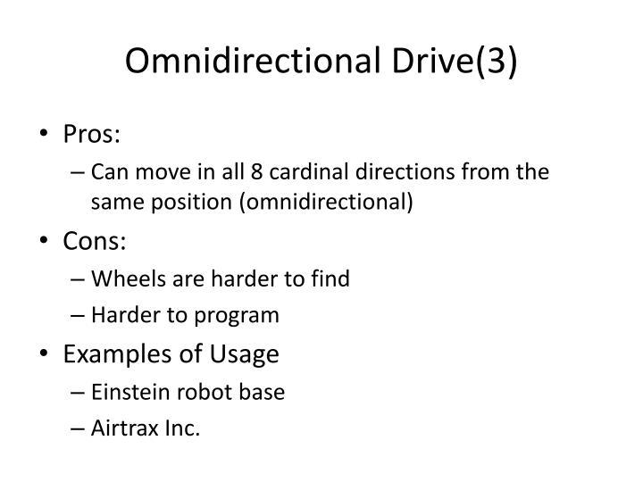Omnidirectional Drive(3)