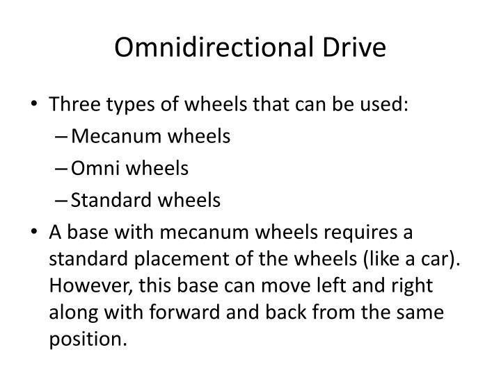 Omnidirectional Drive