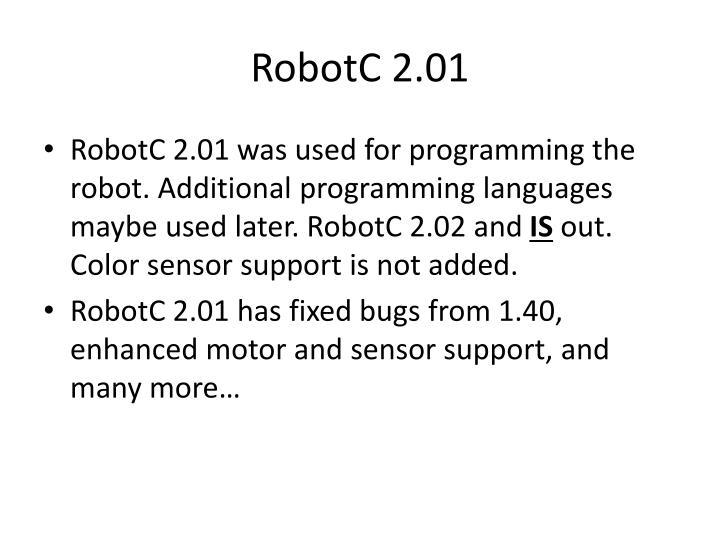 RobotC 2.01