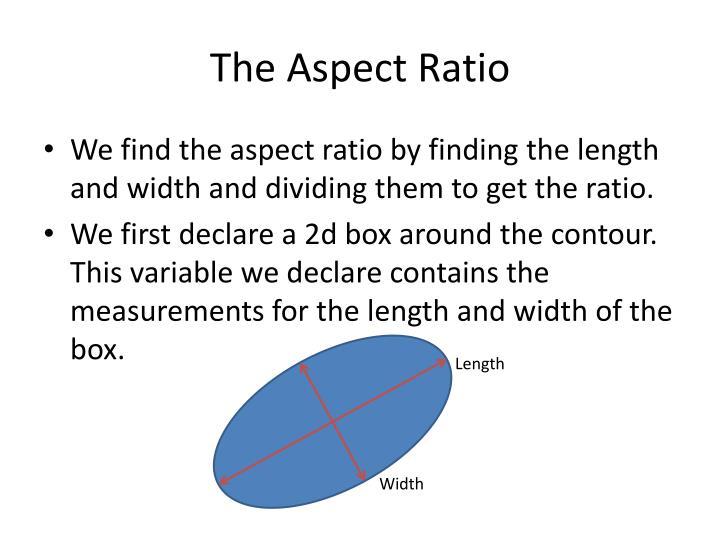 The Aspect Ratio