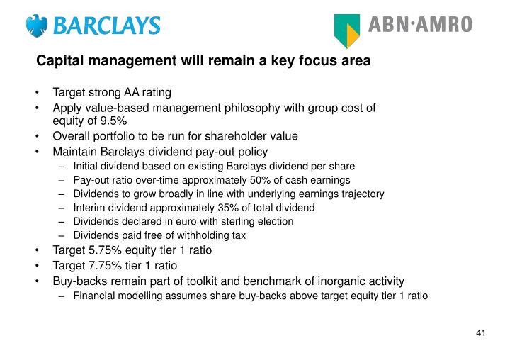 political factor of barclays