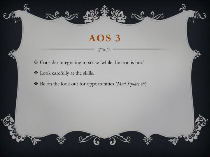 AOS 3