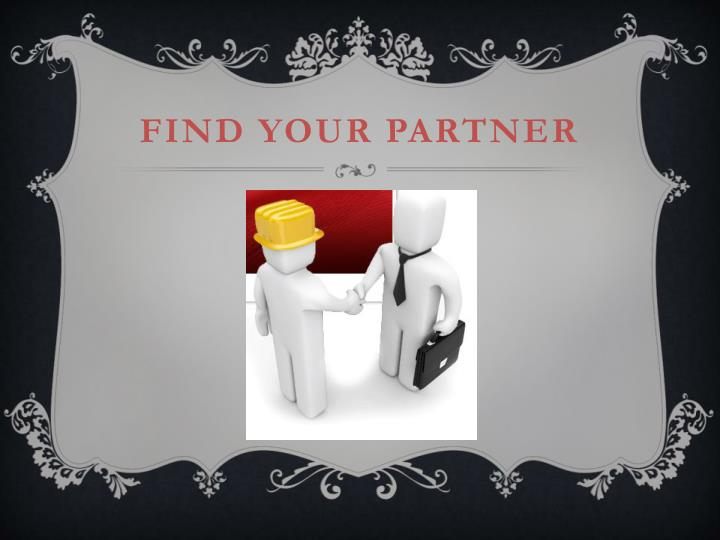 Find your partner