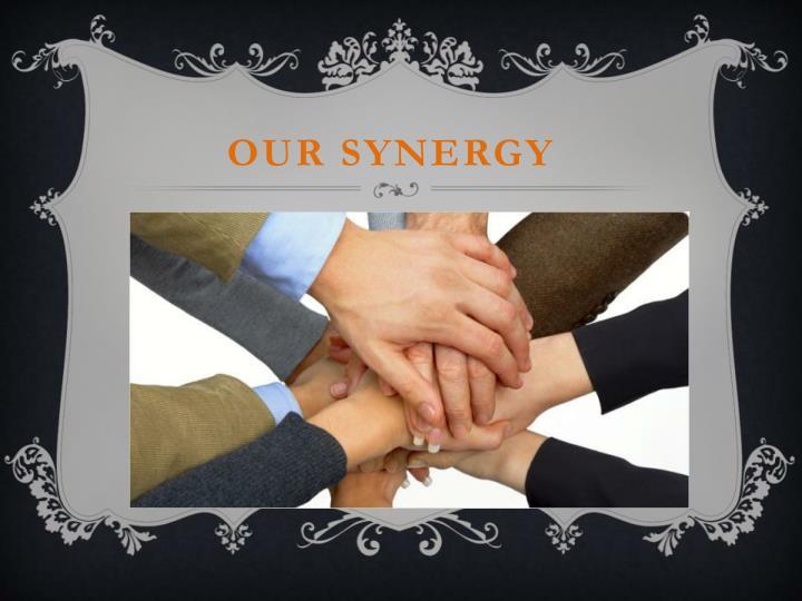 Our synergy