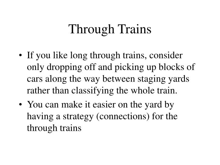 Through Trains