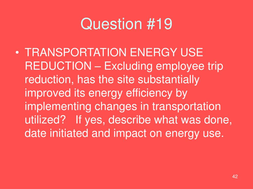 Question #19