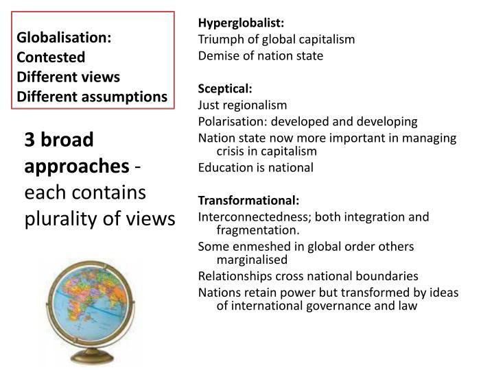 Globalisation: