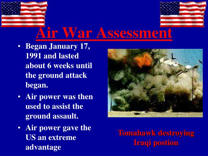 Air War Assessment
