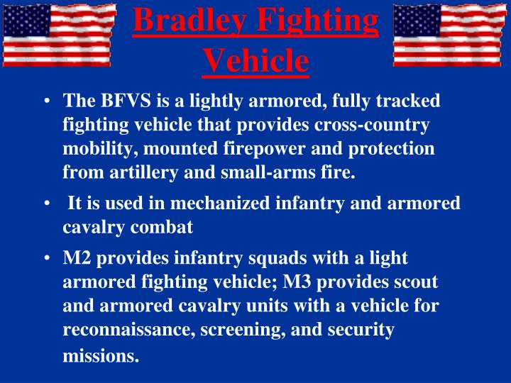 Bradley Fighting