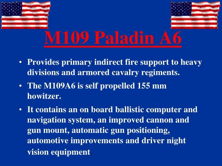 M109 Paladin A6