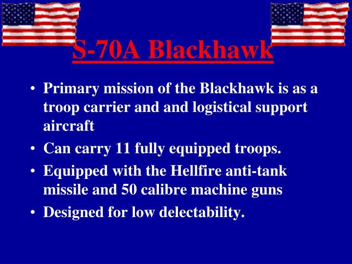 S-70A Blackhawk