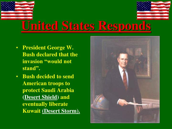 United States Responds