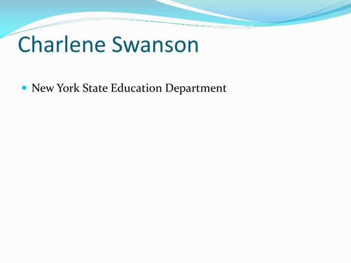 Charlene Swanson