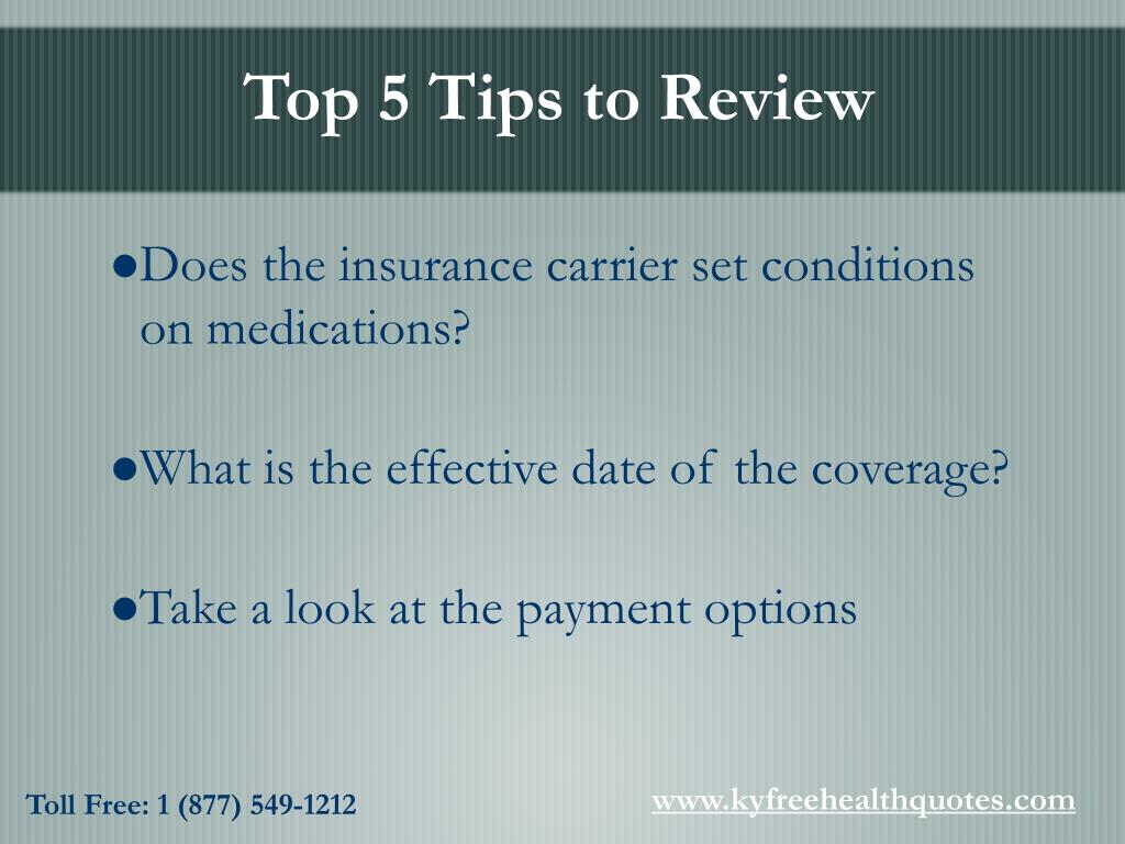 Top 5 Tips to Review