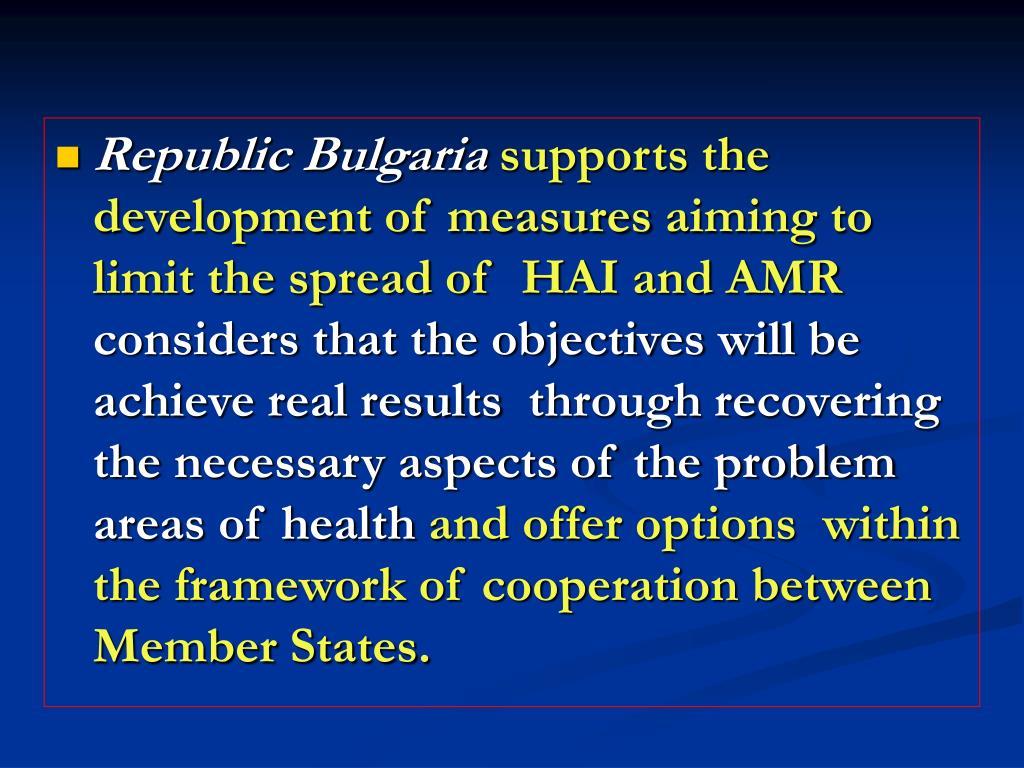 Republic Bulgaria