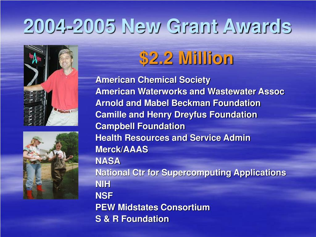 2004-2005 New Grant Awards