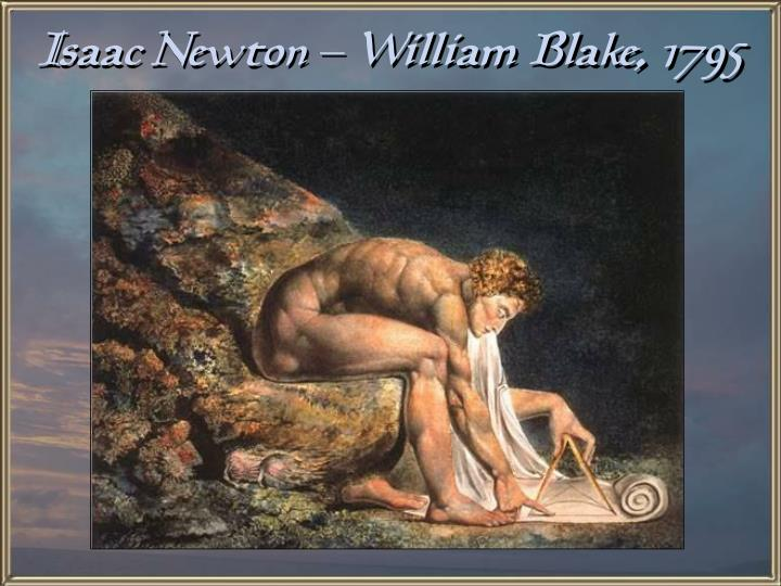 Isaac Newton – William Blake, 1795