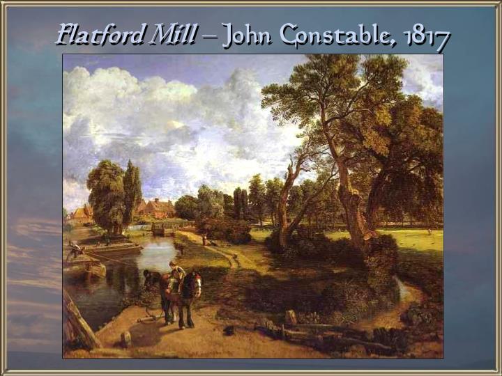 Flatford Mill –
