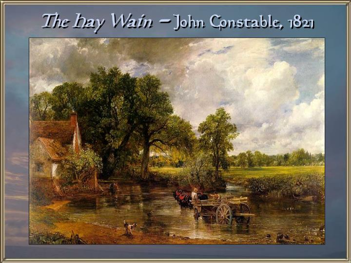 The Hay Wain -