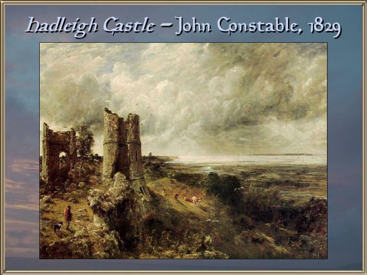 Hadleigh Castle -