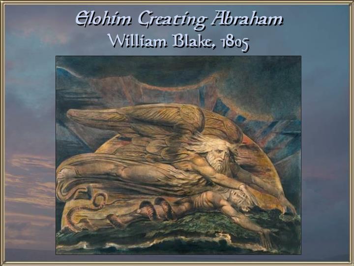 Elohim Creating Abraham