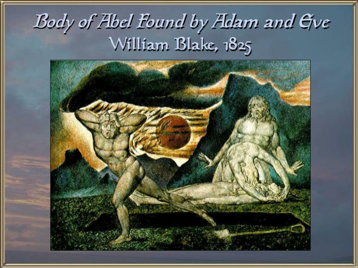 Body of Abel Found by Adam and Eve