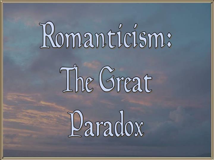Romanticism: