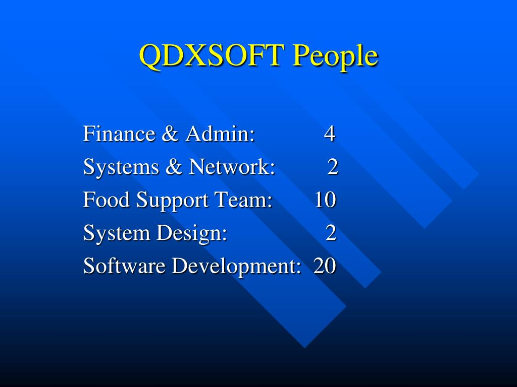 QDXSOFT People