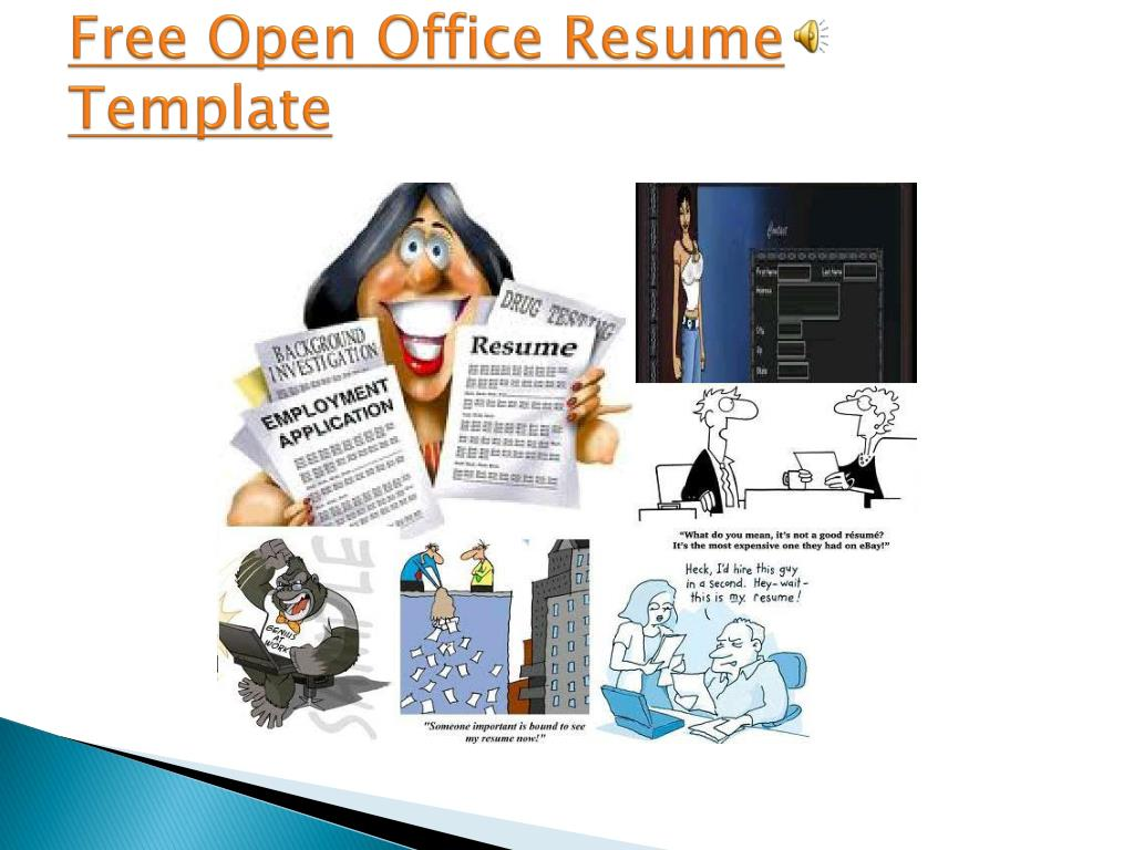 Free Open Office Resume Template