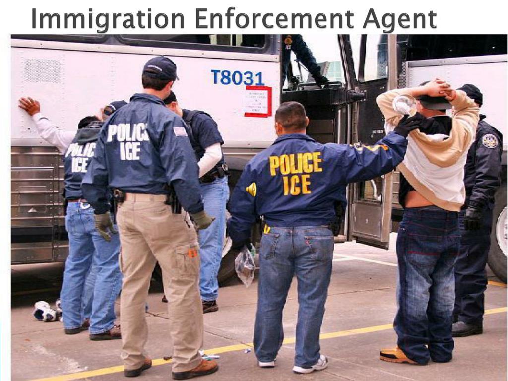 Immigration Enforcement Agent
