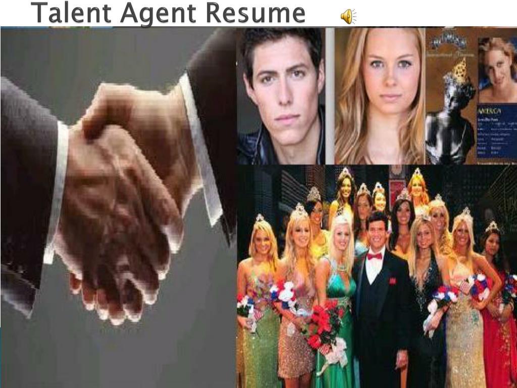 Talent Agent Resume