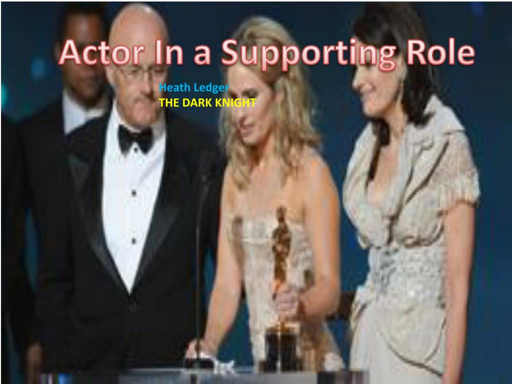 Actor In a Supporting Role