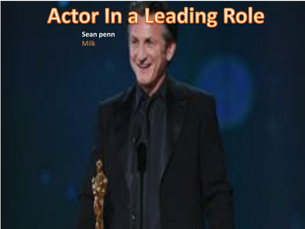 Actor In a Leading