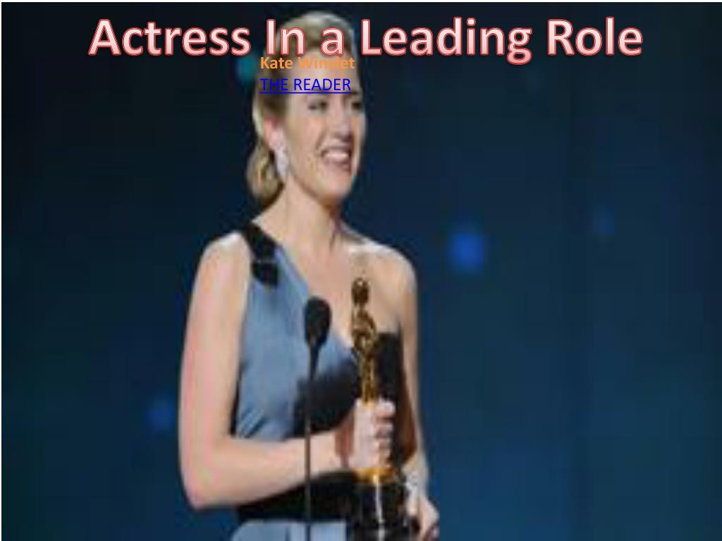 Actress In a Leading Role