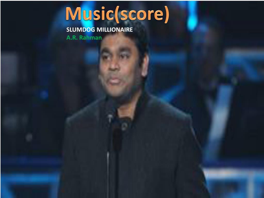 Music(score)