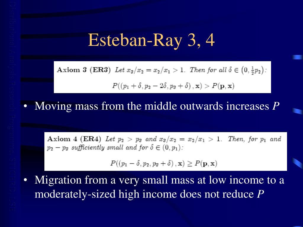 Esteban-Ray 3, 4
