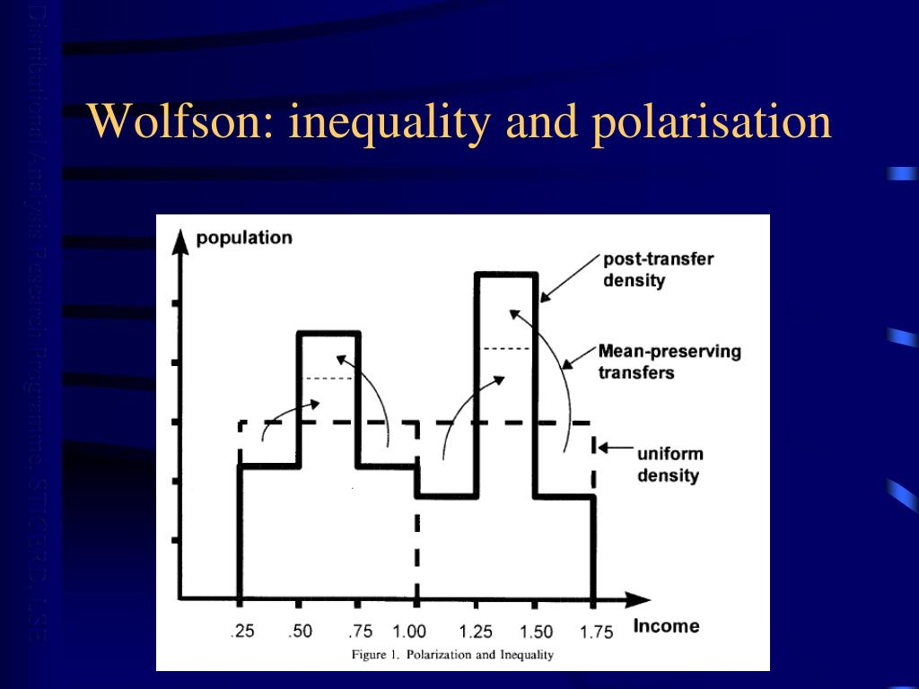 Wolfson: inequality and polarisation