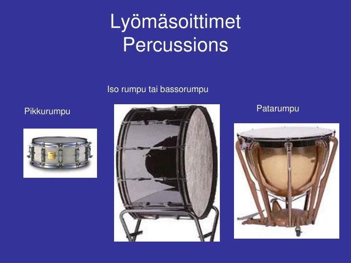 Orkesterisoittimet